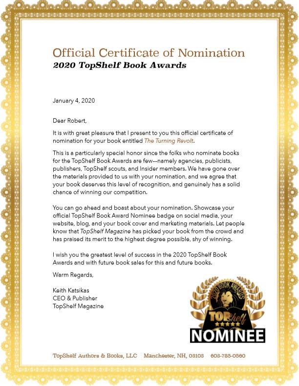 nomination letter